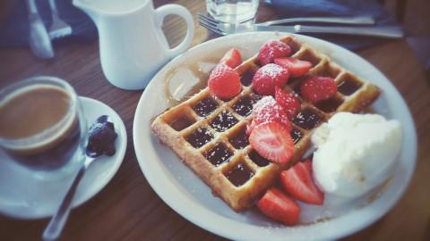 Verwen de innerlijke mens met Waffle Time in de Zijlstraat